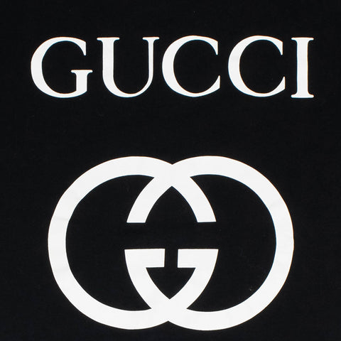 Gucci GG Interlocking Black T Shirt