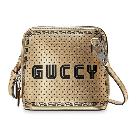 Gucci Guccy Mini Gold Shoulder Bag