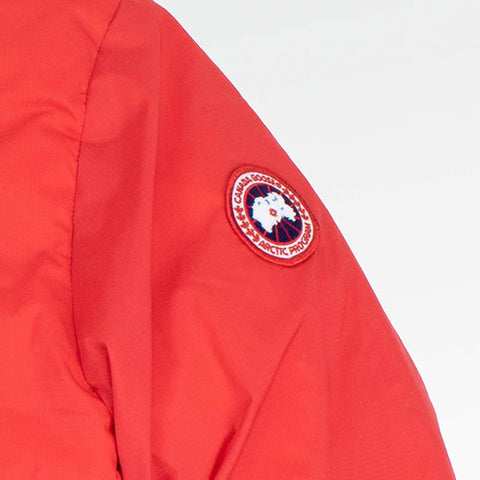 Canada Goose Lodge Quilted Shell Red Jacket