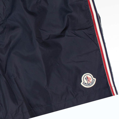 Moncler Navy Shell Swim Shorts