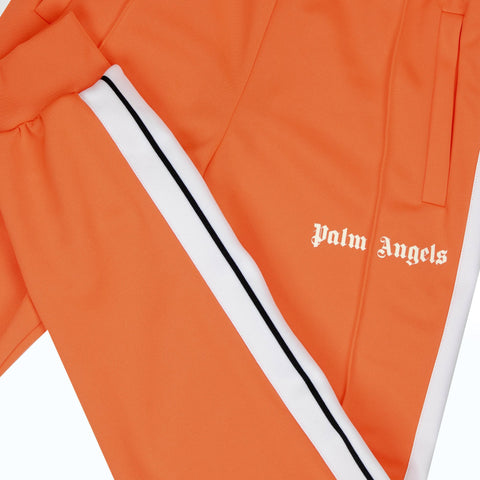Palm Angels Orange Cuffed Track Pants