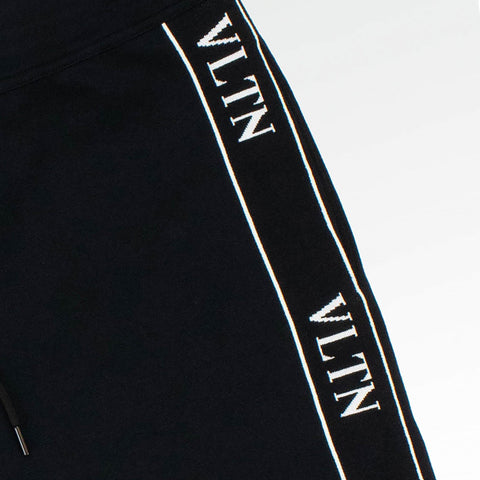 Valentino VLTN Viscose Sweatpants Black