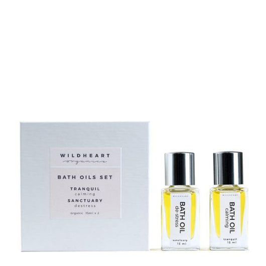 Mini bath oil set