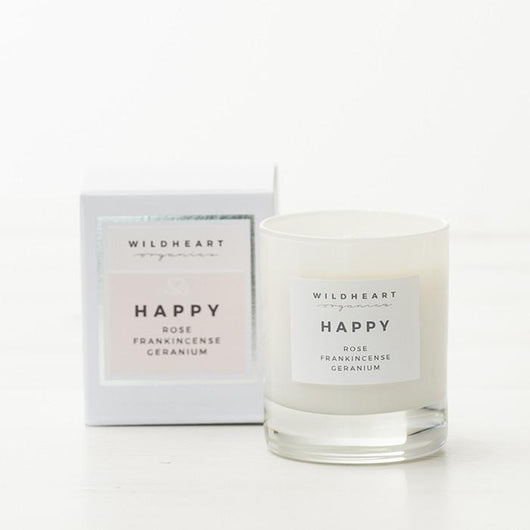 Happiness Single Wick Candle