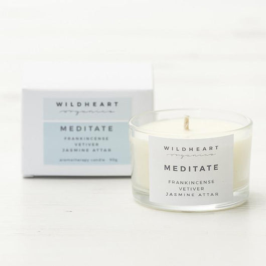 Meditation Travel Candle