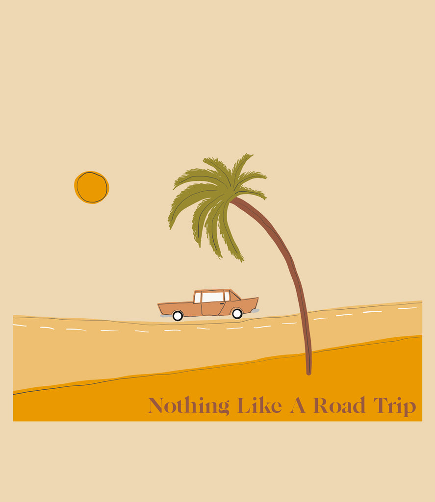 "'Less than perfect"" Nothing like a road trip tee"