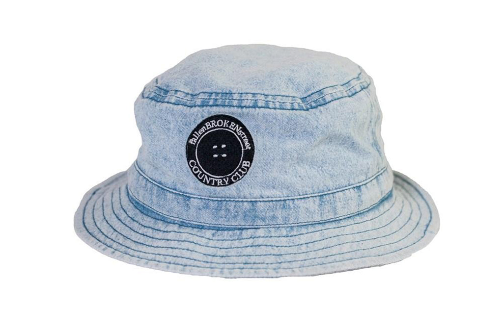Denim CC Bucket Hat - KIDS
