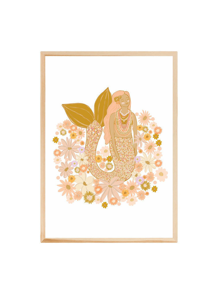 Spring Mermaid - Art Print