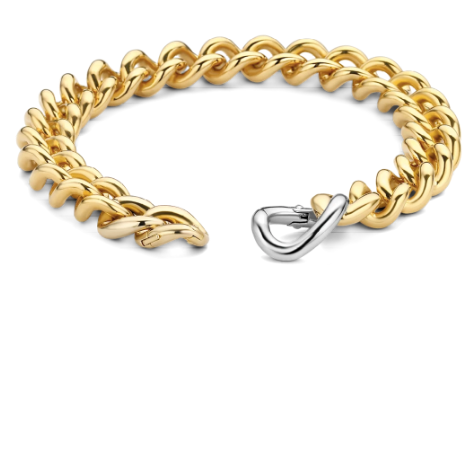 Cuban Link Gold Plated THN TS
