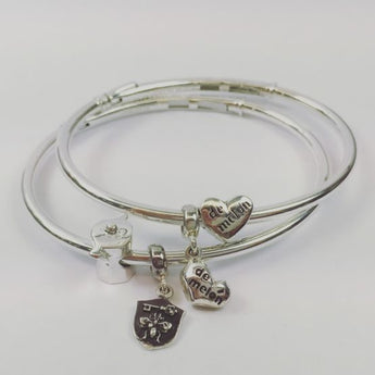 Corazon de Melon Stack Bangle Set