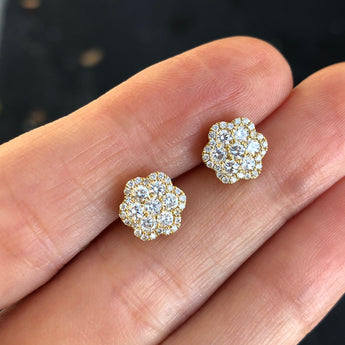 Rosita Diamond Cluster Earring