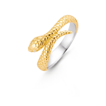 Golden Snake Ring TS