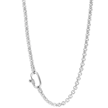 Milano Rolo Silver Necklace