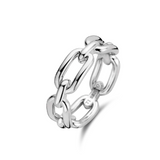 Milano Chain Silver Ring