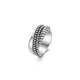 Silver Rolling Style Ring