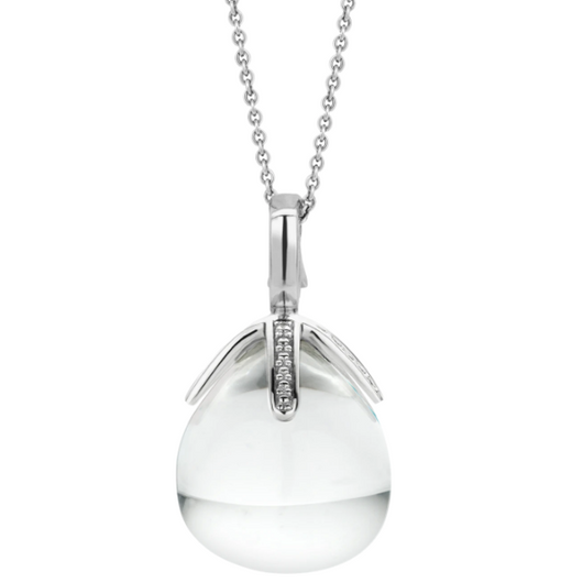 Crystal Drop Pendant Necklace TS