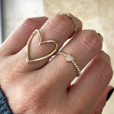 Open Your Heart Ring