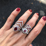 Circles Ruby Ring