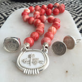 Red Shell Interchangeable Necklace