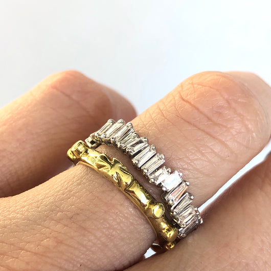 Yellow Gold Rosary Ring
