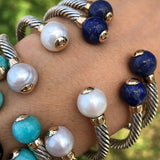 Big Stones Mini Twist Bangle