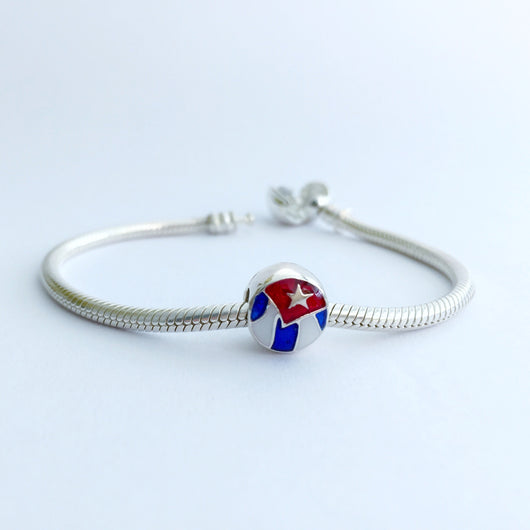 Cuban Flag Charm