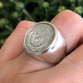 The Original Cuban Crest Ring