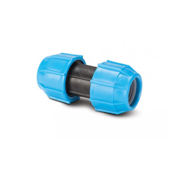 Polyfast 25mm Straight Coupler 40025