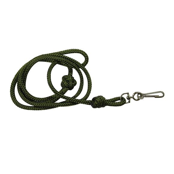 Traditional Lanyard 4mm Green
