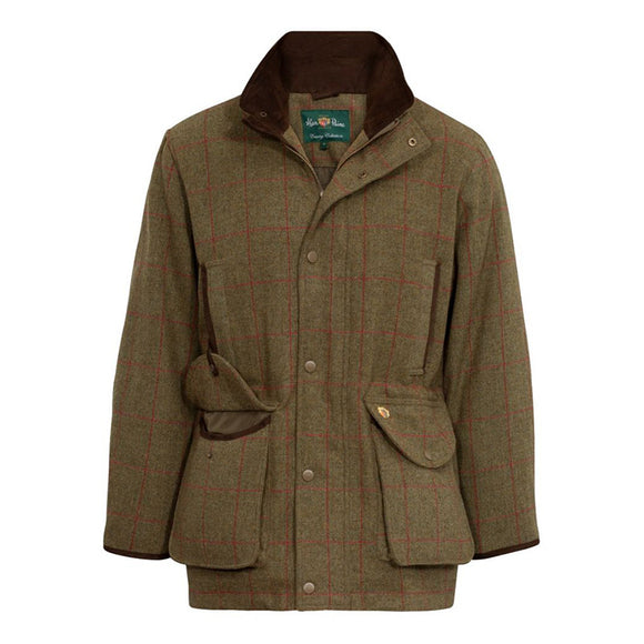 Alan Paine Combrook men's field shooting coat in sage