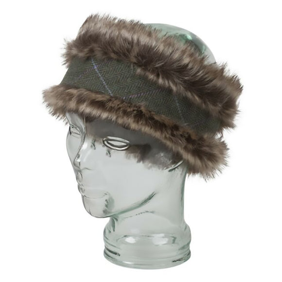 Hoggs of Fife Albany Faux Fur/Lambswool Headband