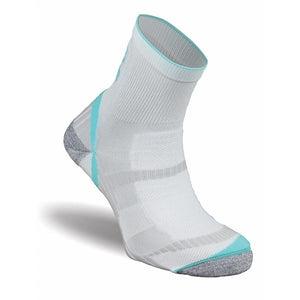 Atlas White/Aqua socks