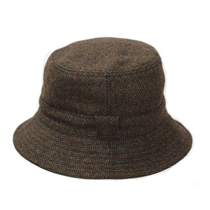 Reversible  Tweed Hat BR67