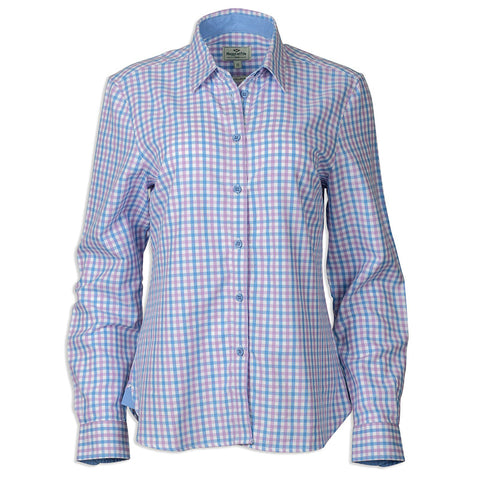 Beatrice Lady Shirt - Primrose Check - L