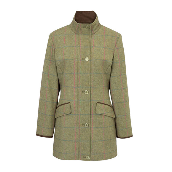 Alan Paine Combrook Ladies Coat in Juniper