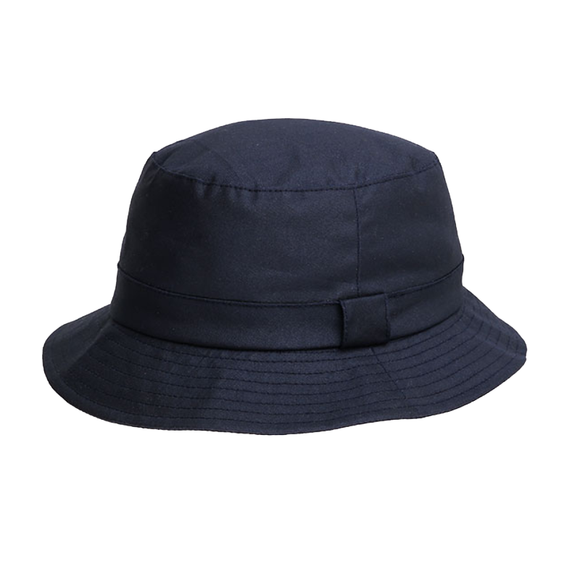 Denton Derwent Wax Hat-Navy