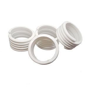 25.4mm Poultry Spiral Leg Ring (Pack of 5)