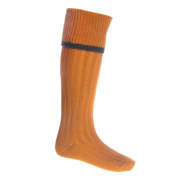 Estate Field Sock - Ochre - Medium