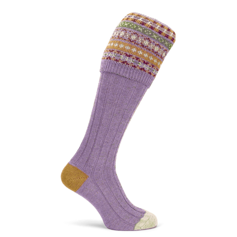 Imperial Shooting Sock - Antique Gold