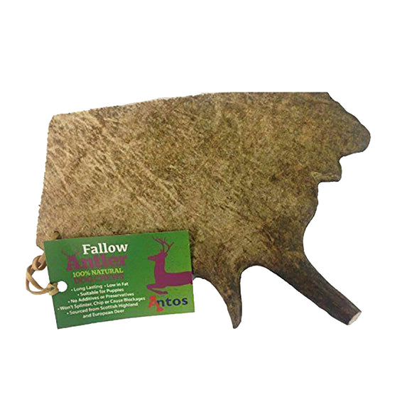 Antos Fallow Antler - Large (150-220g)
