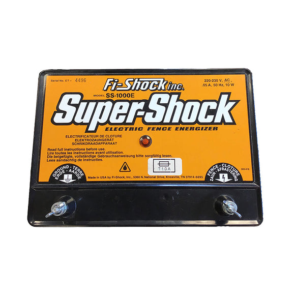 Fi-Shock Electric Fence Energizer