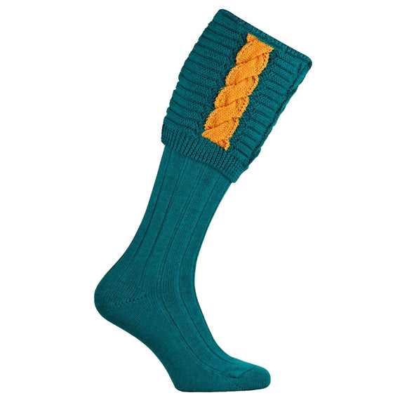 Governor Shooting Socks - Turquoise