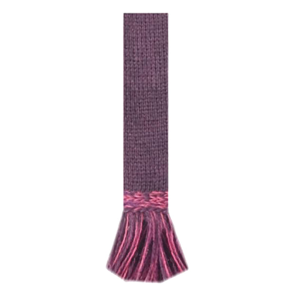 House of Cheviot Garter tie in Thistle Dusky Pink