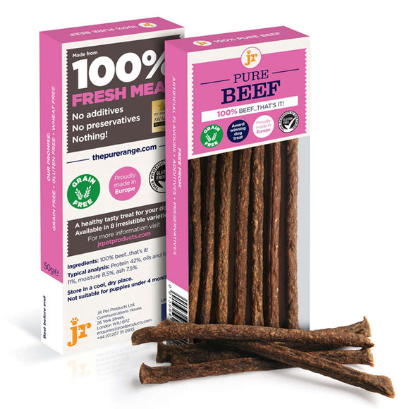 JR Pet Products Pure Beef Sticks 50g