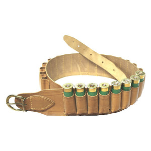 Cartridge Belt Natural Leather (20)