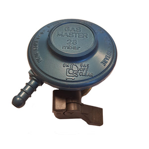 Gas Master Quick Coupling Butane Regulator 28mbar