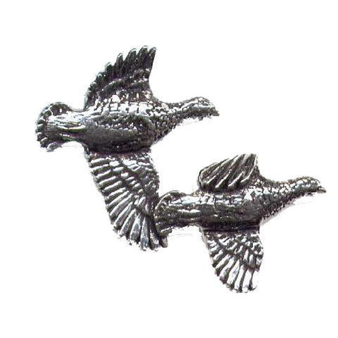 Pewter Pin No12. Labrador With Duck