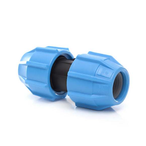 Polyfast 20mm Straight Coupler MDPE 40020