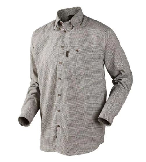 Seeland Burton shirt in Total eclipse check