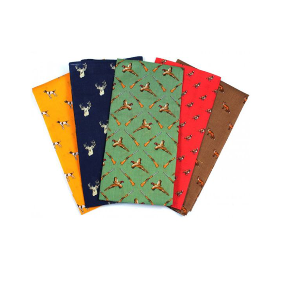 Soprano Country Theme Cotton Hankies (5)